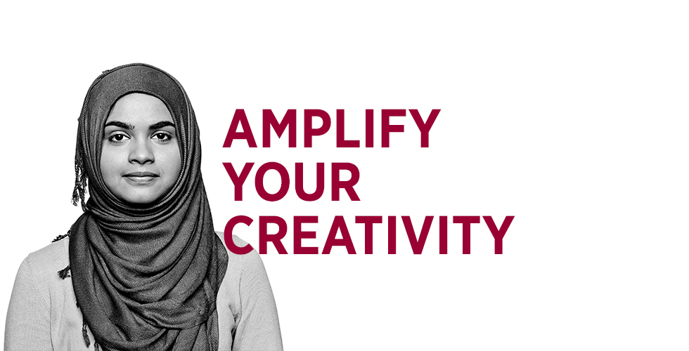 Amplify your creativity