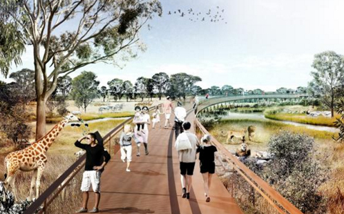 Artists impression of zoo