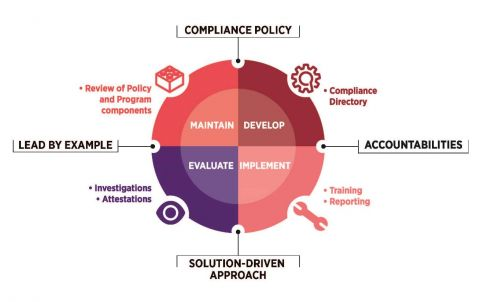 Compliance Procedures Diagram