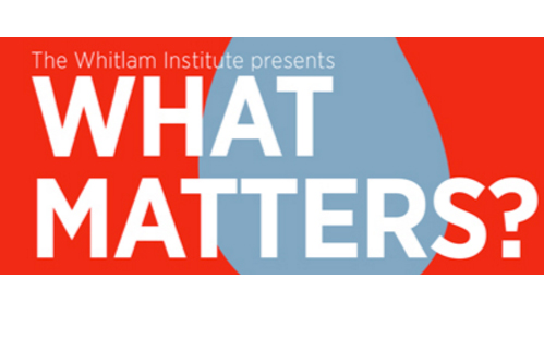 What Matters logo