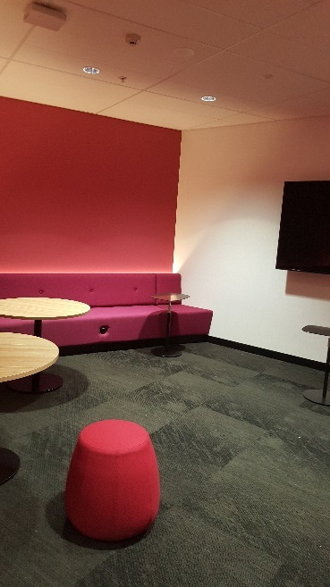 Student space at Parramatta City campus