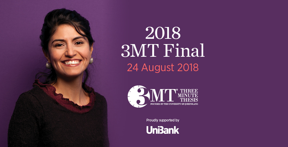Three-minute thesis finals