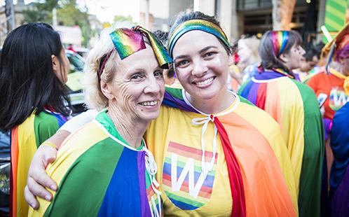 Western Sydney University attends the 2019 Sydney Gay and Lesbian Mardi Gras