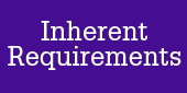 Inherent Requirements