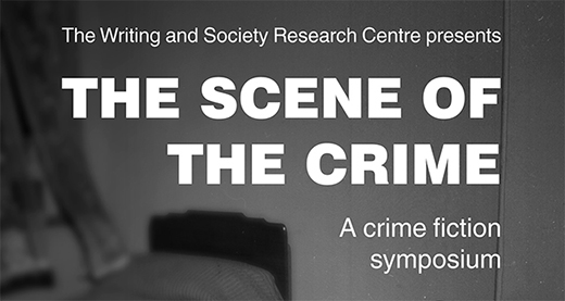 The Scene of the Crime: a crime fiction symposium