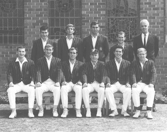 Cricket team - 1st XI, 1968 [Hawkesbury Agricultural College (HAC)]