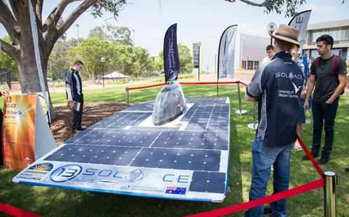 Solar Car BBQ
