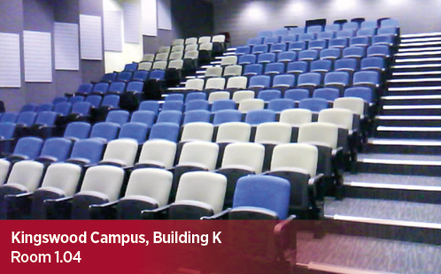 Kingswood Campus, Building K, Room 1.04