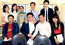 English students graduation