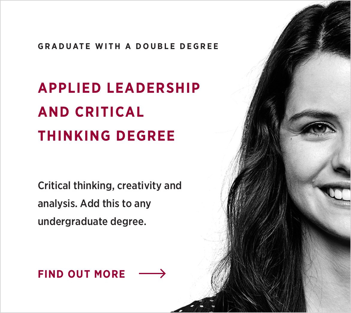 Applied leadership and Critical thinking degree