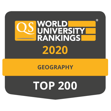 Geography QS Ranking 2020