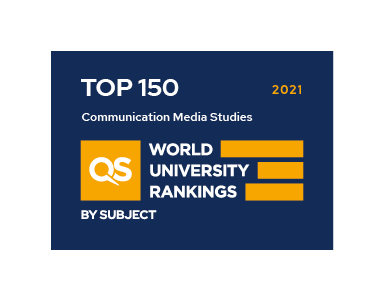 Communication & Media QS Ranking 2021