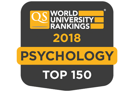 Psychology top 150 QS badge