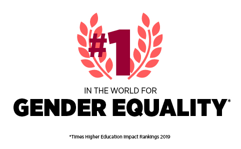 1st in the world for Gender Equality