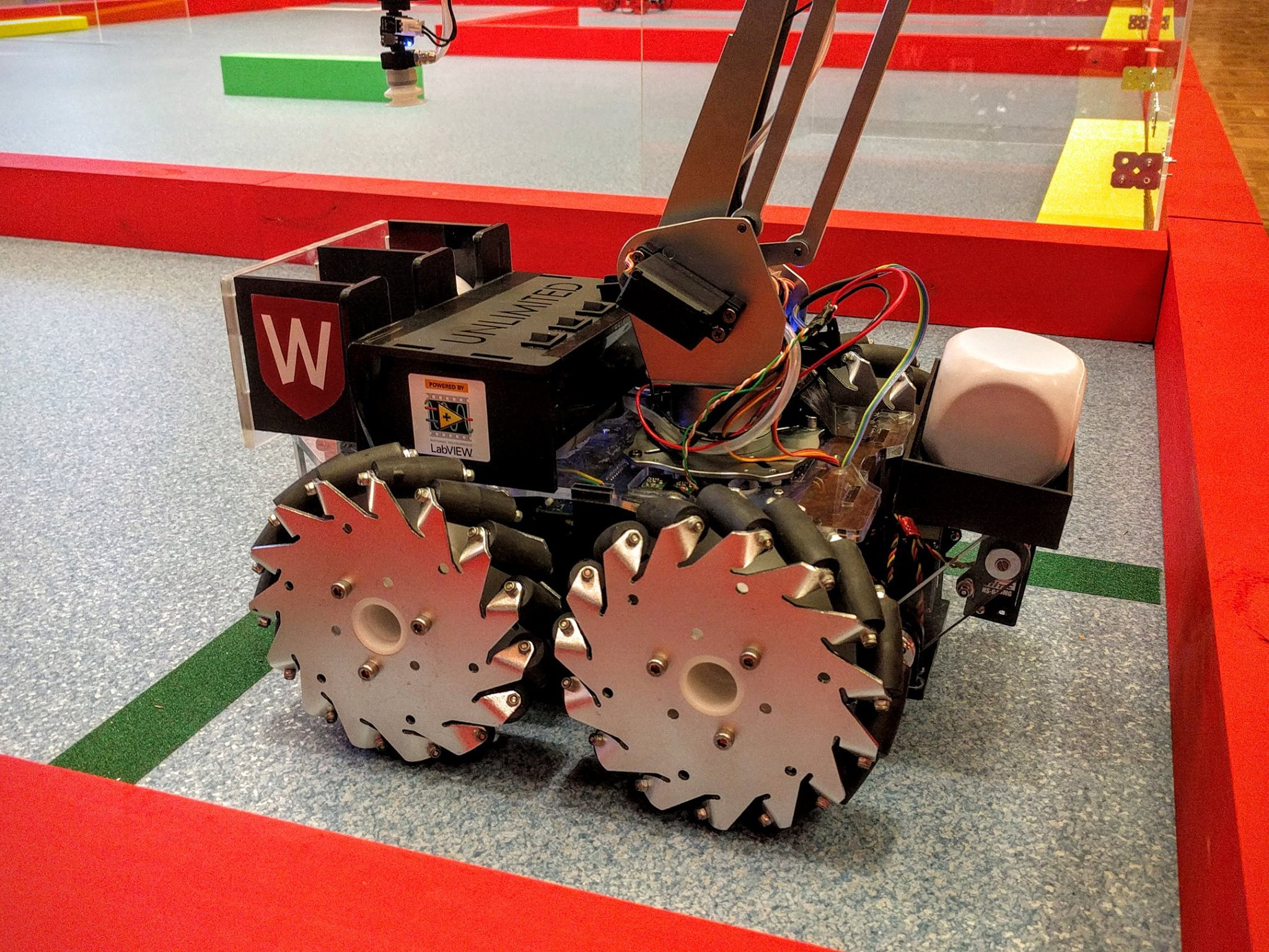 Western's Unlimited Robotics Club Robot