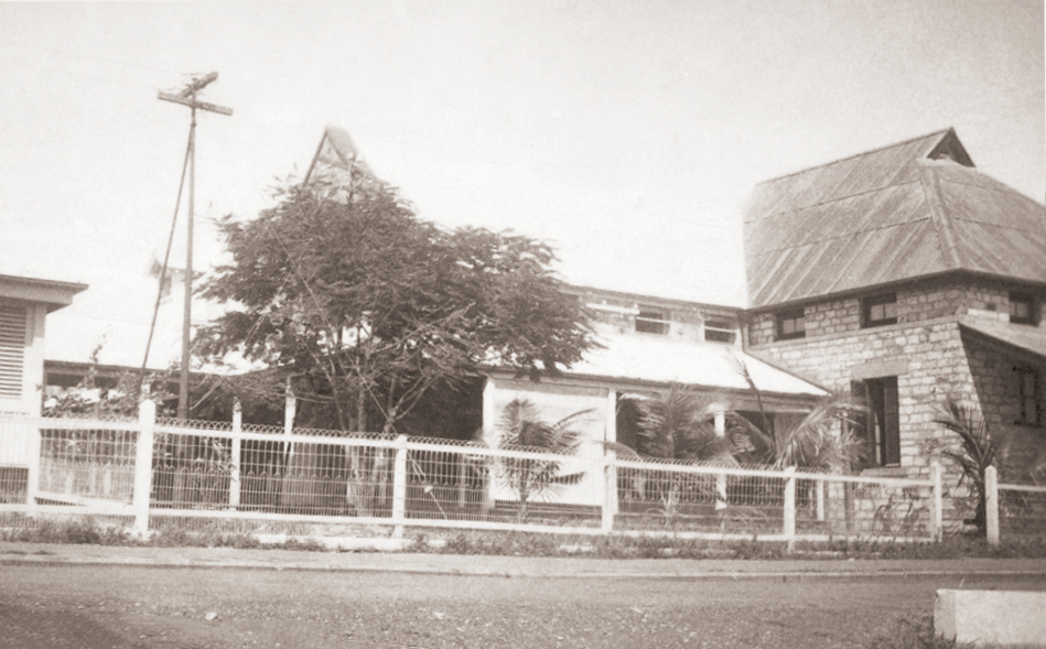 The Darwin Post Office before the bombing.