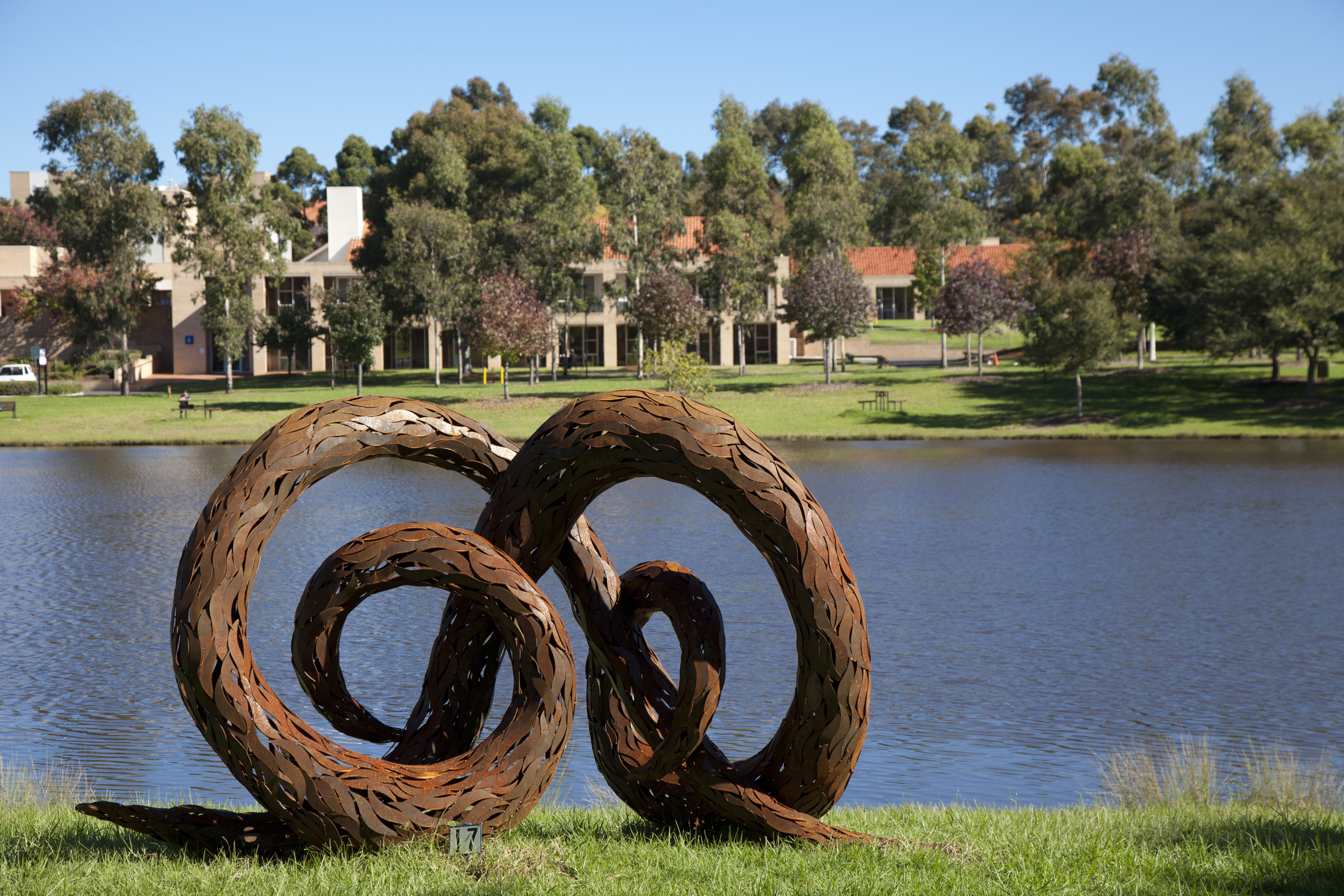 Campbelltown campus sculpture
