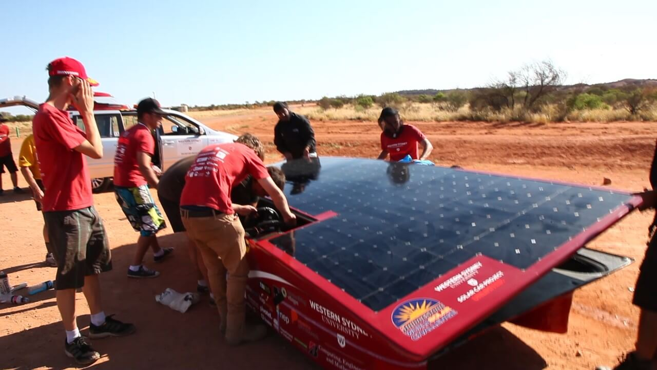 Be apart of our World Solar Challenge team